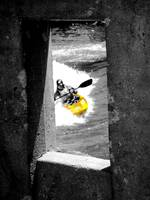 Concrete Kayaker Composite