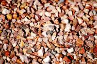 Coloured gravel