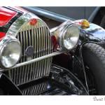 """Vintage Red Sportscar"" by DavidBleakley"