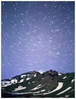 Mt. Shasta Star Trail