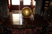 A Globe in historic portugal building