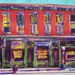 """Hoppers sidewalk shops"" by MitchellMcClenney"