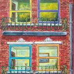 """Brownstone Window"