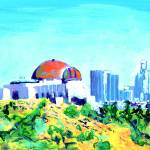 """Observatory and Los Angeles by RD Riccoboni"" by BeaconArtWorksCorporation"