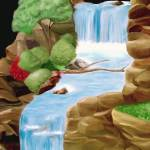 """""""Cascading Waterfalls"""" by WeshonHornsby"""
