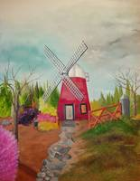 Windmill Cove print