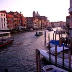 """The Grand Canal at dusk"" by sylviacook"