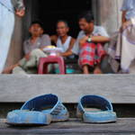 """Slippers in Chau Doc"" by jcarillet"