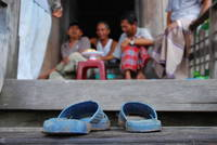 Slippers in Chau Doc