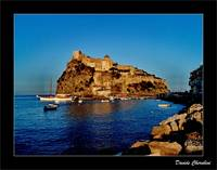 Ischia - Aragonse Catle at Sunset