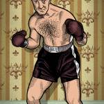"""Rocky Marciano"" by mariozuccaillustration"