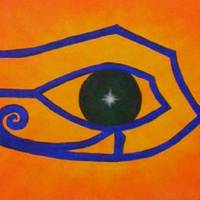eyeofra2 Art Prints & Posters by Trish Laffrenere