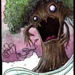 """tree!"" by friskeegallery"