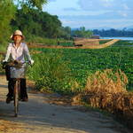 """Bicycle by the Perfume River"" by jcarillet"