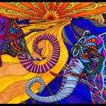 """""""The Elephants"""" by phillewisart"""