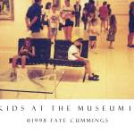 """Kids at the Museum II Poster"" by artistfaye"