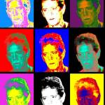 """LOU REED AS POP ART"" by babooshka"
