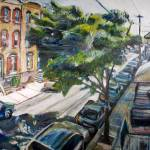 """The Anatomy of a South Philly Street Tree"" by noelhefele"