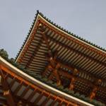 """Monastery Roof Narita Japan 135"" by Rhubarbandcustard"