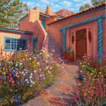 """Courtyard Garden in Taos"" by StudioSinaloa"