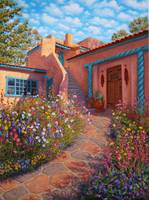 Courtyard Garden in Taos