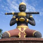 """Statue of Ta Dambong"" by KeithKelly"
