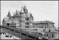 Mansions of Mark Hopkins and Gov. Leland Stanford, by WorldWide Archive