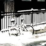 """snowy bike"" by dreamerofpics"