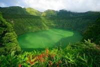 Santiago lake, Azores islands