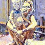 """Goroka Mother and Child"" by DavidBleakley"