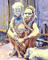 Goroka Mother and Child