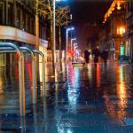 """glasgow city night"" by abuji"