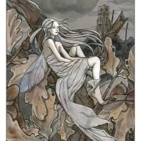 Folletto del Vento Art Prints & Posters by Natalia Pierandrei
