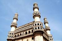 minarets of Charminar, Hyderabad
