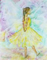 216 Dancer In Yellow Dress