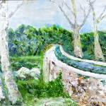 """307 San Antonio Aqueduct"" by FrankGonzalesArt"