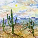 """""""317 Saquaro Cactus"""" by FrankGonzalesArt"""