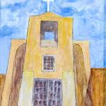 """""""349 San Miguel Chapel"""" by FrankGonzalesArt"""