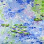 """330 Reflections on Monet"" by FrankGonzalesArt"