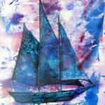 """345 Sailboat # 2"" by FrankGonzalesArt"
