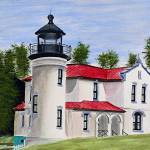 """Admiralty Head Lighthouse"" by marygaines"
