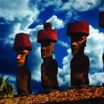 """Easter Island Blue Sky"" by NileRoot"