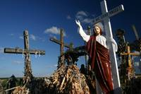 In hoc signo vinces, Hill of the crosses, Lithuani
