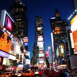 """Blinking lights at Times Square, New York"" by RaphaelBickPhotography"