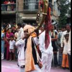 """Pune Ganesh Festival Person Playing Tutari"" by Prasadn"