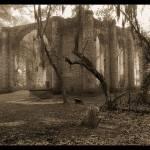 """Old Sheldon Church"" by Hansen"