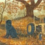 """Autumn Labrador 2"" by tinibaybeez"