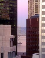 San Francisco Bay Bridge from Mills building by WorldWide Archive
