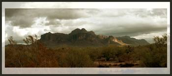 After the Rain- Superstition Mountains, Arizona