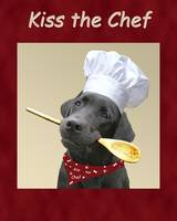 Kiss the Chef Black Labrador Retriever